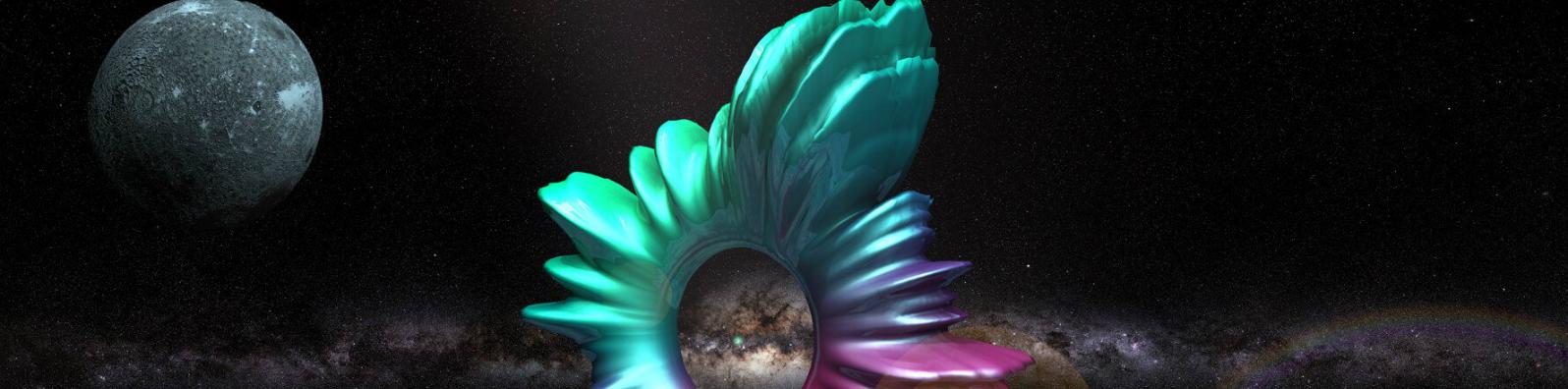 NASA O Kahkahayı Uzay Boşluğuna Bıraktı