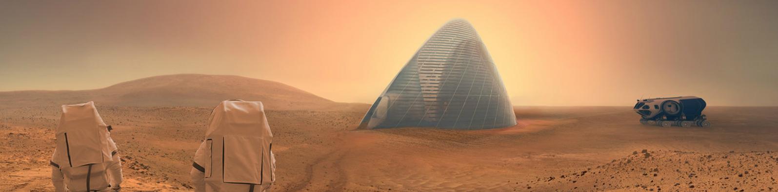 NASA Mars Konutları için Planını Açıkladı