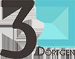 3D Yazıcı Konsept 3B Yazıcılar Mağazası ve Kafesi 3Dörtgen 3D printer logo