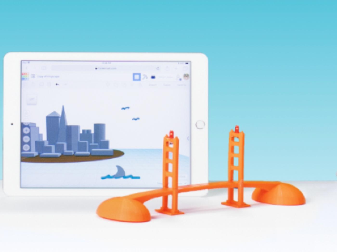 Ücretsiz 3 boyutlu tasarım programı Tınkercad iPad'de!