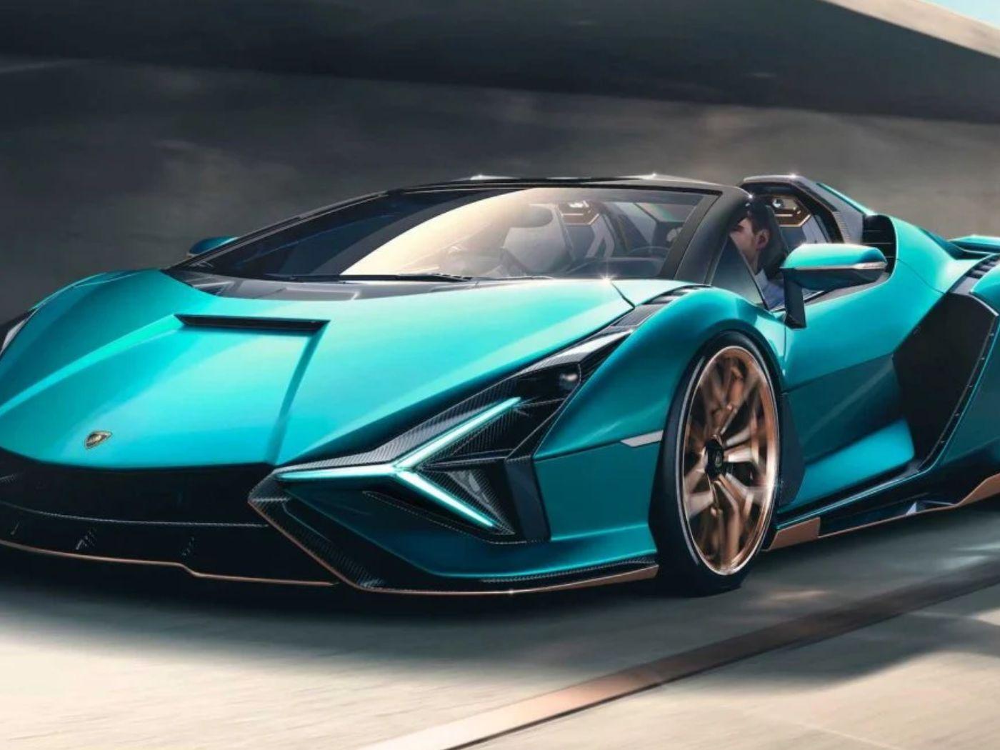 Lamborghını, Yeni Aracı Sian Roadster'ın 3D Yazıcılar ile Kişiselleştirilebileceğini Duyurdu