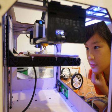 Çocuklar için 3D Baskı