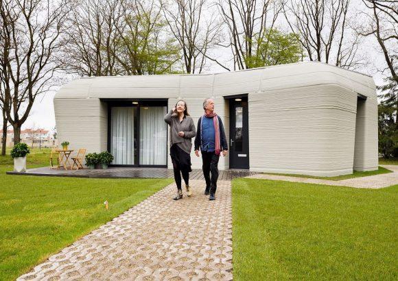 3D Baskı Ev, İlk Avrupalı Kiracılarını Ağırlıyor